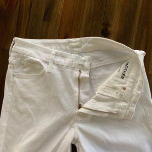 MOTHER Jeans - MOTHER 🆕denim NWOT The Looker Crop Glass Slipper